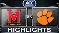 Maryland vs Clemson | 2014 ACC Basketball Highlights