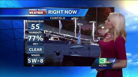 Tamara Berg's Tuesday NorCal weather update