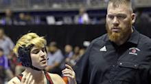 Transgender boy 2 wins away from girls state wrestling title