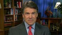 How would Rick Perry end budget stalemate in Washington?