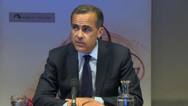New Bank of England chief steers from stimulus