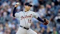 Sanchez, Tigers beat Yanks for 2-0 lead in ALCS