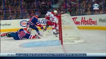 Eric Staal scores a shorthanded breakaway