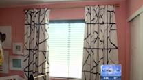 Million dollar spaces: DIY drapes complete the look, pull it all together