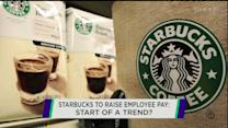 Starbucks promotions and pay hikes