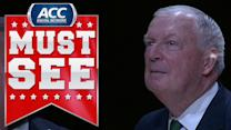 Digger Phelps Enters Notre Dame Ring Of Honor | ACC Must See Moment