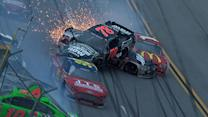 Busch goes for a wild ride