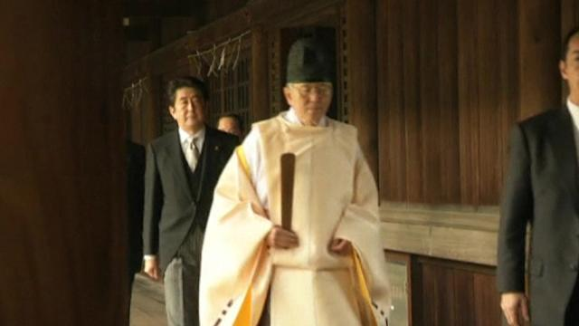 Shinzo shrine visit prompts backlash