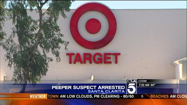 Peeper Arrested For Taping Young Girls at Target