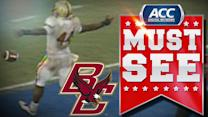 BC RB Andre Williams Busts 80-Yard TD Run | ACC Must See Moment