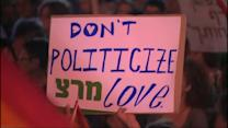 Thousands rally across Israel after wave of violence