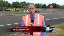 2 dead on I-80 after truck driver chokes near Davis