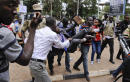 Ugandan police tear gas protesters of 'life presidency' bill
