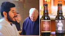 Monks team up with brewery to restore 16th Century monastery