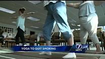 Study uses yoga to quit smoking