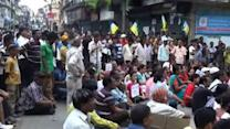 GJM supporter dies, indefinite strike begins