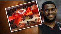 Lebron James Apologizes to Neighbors With Cupcakes