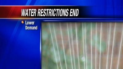 OKC Ends Mandatory Water Restrictions