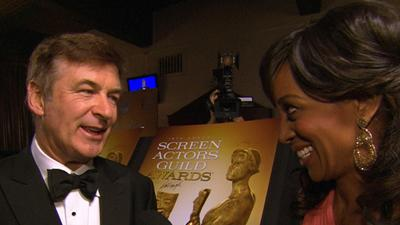SAG Awards 2013: Alec Baldwin Dishes On Win And '30 Rock' Series Finale