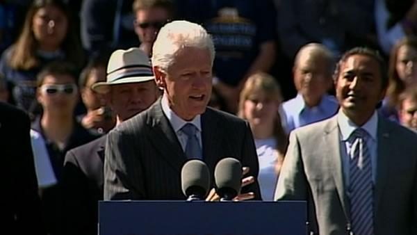 Clinton visits UC Davis to rally support for Democrats