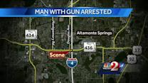 Man arrested after standoff near SR 436, I-4