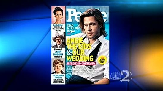 The Scoop: Brad Pitt opens up about getting married
