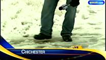 Heavy, wet snow causes slick conditions on NH roadways