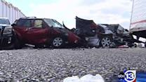 Some I-10 wreck victims sent to Houston hospital