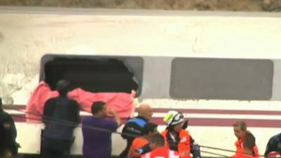 At Least 77 Reported Dead in Spain Train Wreck