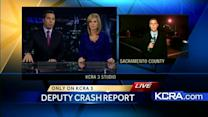 CHP report: Deputy traveling 107 mph before crash