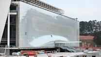 Sao Paulo nears completion of troubled World Cup stadium