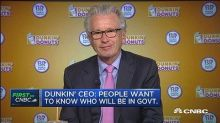 Dunkin Brands CEO: Concerns about stock price overdone