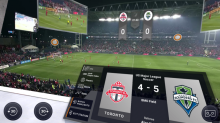 Virtual reality is the future of soccer broadcasting and it's already here