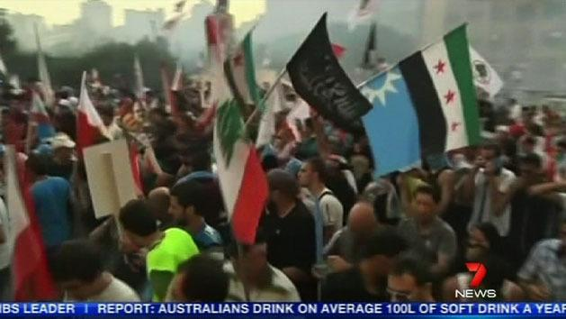 Unrest erupts in Lebanon