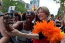 Elizabeth Warren Doesn't March At The Pride Parade, She Dances