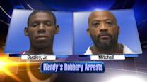 2 arrested after fast-food restaurant is robbed