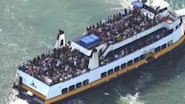 Ferries take on extra passengers