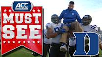 Duke Clinches Coastal Division Title | ACC Must See Moment Of 2013 Candidate