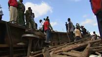 Six injured, others missing as cargo train derails in Kenya