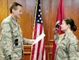 US Air National Guard member fired over woman who took enlistment oath with dinosaur puppet
