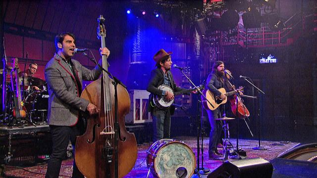 Live On Letterman - The Avett Brothers: Down With The Shine
