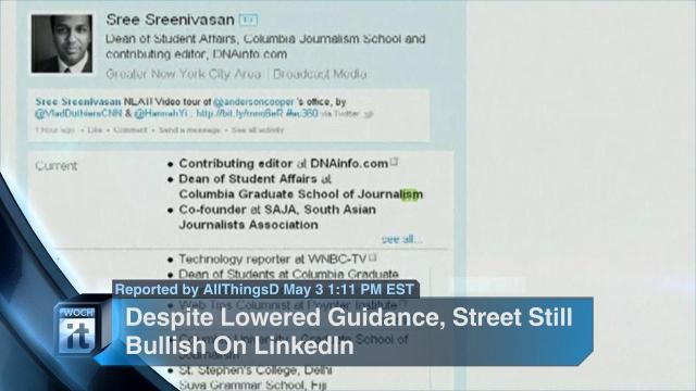News - LinkedIn, Syria, Paul Ashworth