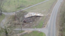 Tornado flattens homes and leaves trail of destruction in Mississippi, drone footage shows