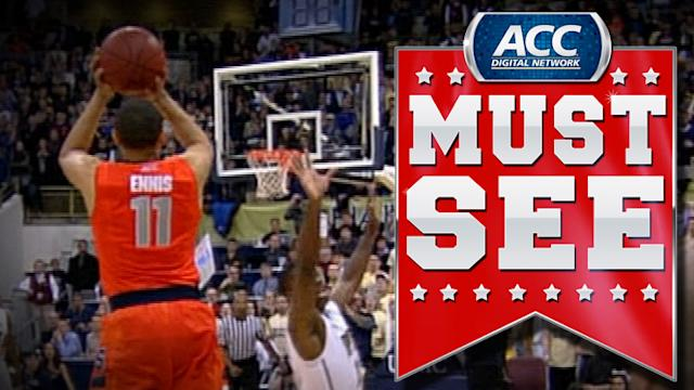 Syracuse's Tyler Ennis Hits Miracle Game Winner Against Pitt