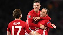 The softest hat trick of Zlatan's career gives Man United 3-0 Europa League lead over Saint-Etienne
