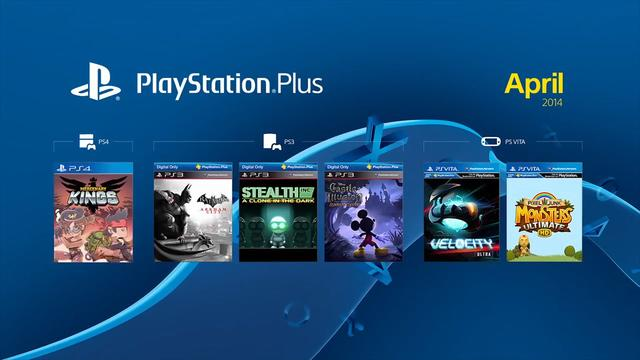 PlayStation Plus Free Games of April