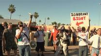 Religious Protesters Square Off in Arizona