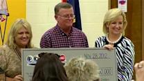 Mark Hill, Cindy Hill, 'blessed before we ever won,' Powerball lottery jackpot