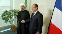Hollande meets Rouhani