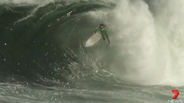 Big wave surfers headed down under